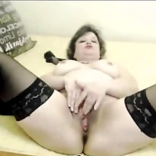 Hot Mature Fucks Pussy With Sextoy