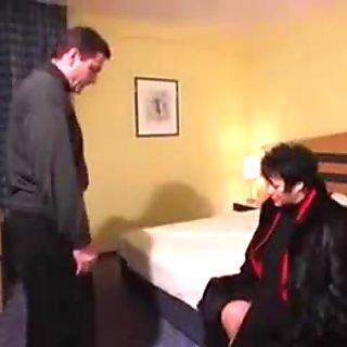 Hot German BBW Cougar Banged in Hotel