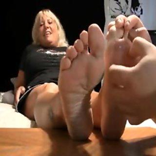 blonde mature hot soles