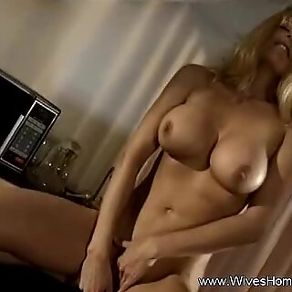 Bored Housewife Masturbates At Home To arouse Herself