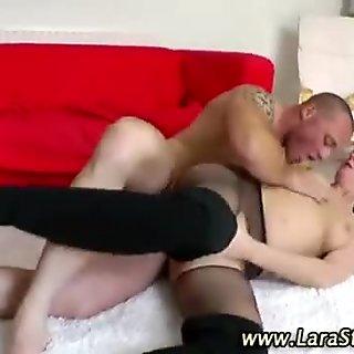 High heeled slut fucked
