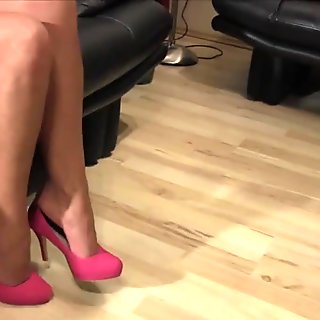 Mrs Taylor foot fetish video