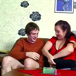 German StepMom entice to plumb by stepson as parent is away