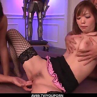 Megu Kamijo deals multiple dicks in a serious XXX - More at 69avs.com