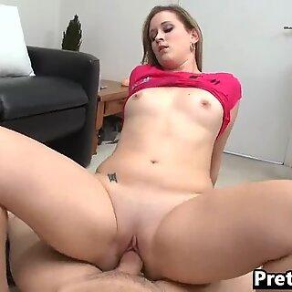 Thick white girl facial video Briella Bounce 1 2.4