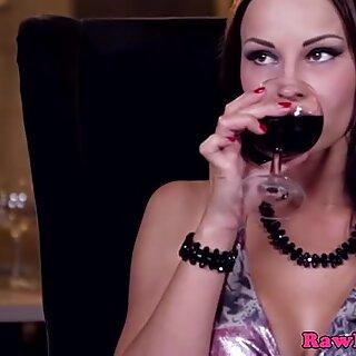 Abbie fucks the barkeeper