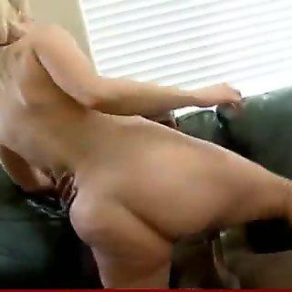 White milf riding a black cock 10