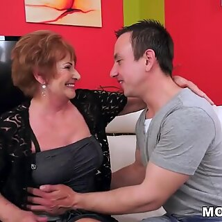 Granny licking her lover's asshole