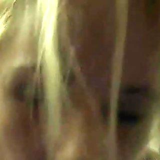 Chubby teen blonde loves sucking dick