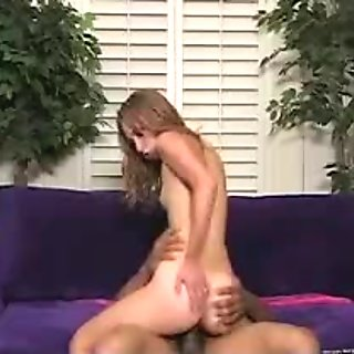 Naughty redhead fucked hard from behind and getting cumshot