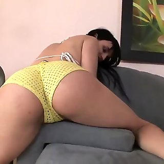 Exotic Brunette Gets Her Ass Fucked