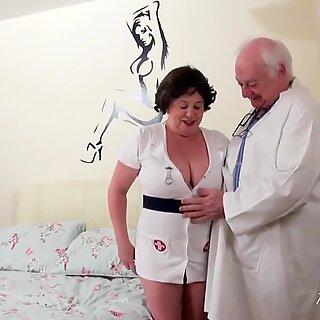 AgedLove Busty British Lady Hardcore Sex Adventure