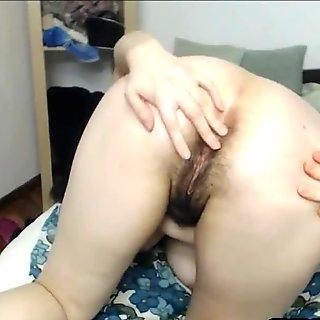 Hairiest Mature Mom On Webcam