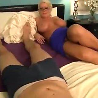 Aunt Shirley Made Me Cum