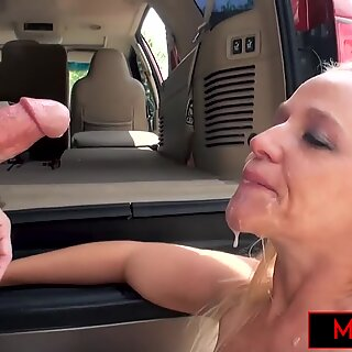 Hotwife Fucks A Stranger Outdoors While Hubby Watches
