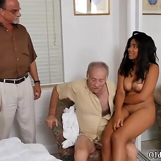 Old granny solo and comrade  friend s brother   friend s sister first time Glenn - Tara Teen