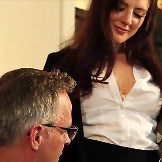 JOYBEAR Sexy Samantha Bentley rewarded by principal
