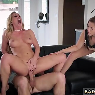 Mom drinks crony  pal s sons cum The Mature Lure