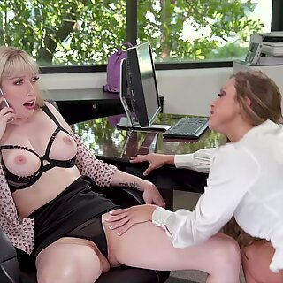 GirlGirl.com - First Day With My New Boss