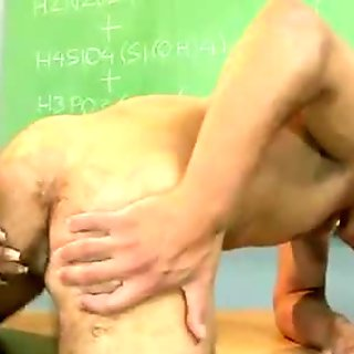 Fat mature teacher gets drilled by her student doggy style