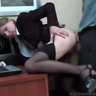 Russian Granny Secretary mature mature porn granny old cumshots cumshot