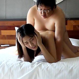 fat fool pulverize a asian hooker