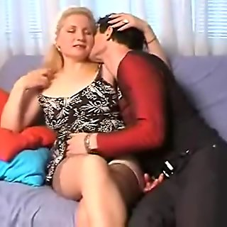 Sexy blonde babe gets horny getting her film 19