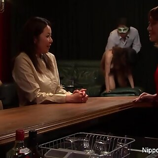 japanese milf at the fuck-fest club gets fingered until she screams