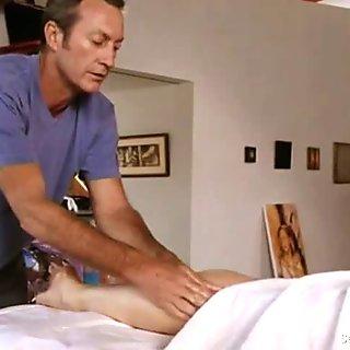 Mimi Rogers erotic massage with a tit rubdown