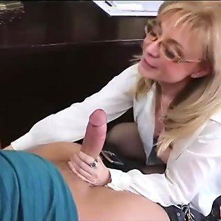 mature teacher nina fuck with lucky young guy