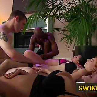 Swing Television season 3 episode 21. New porn reality show lets amateur swinger couples enter