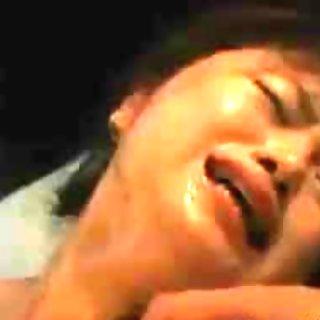 Asian bride gets hardcore group fucking