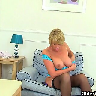 Britain's best assets: stockings, high heels and big tits