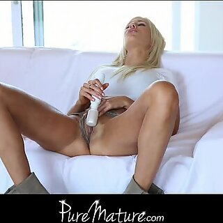 A quiet afternoon masturbating turns into a fuc