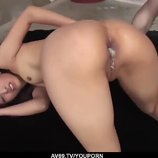 Rin Yuzuki serious group sex and anal stimulation - More at 69avs.com