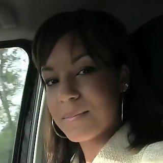 Creampie on pleasant women tits
