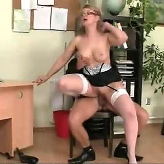 Office lady is fucked hard