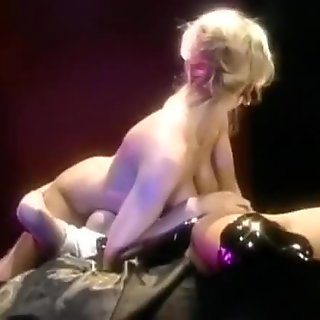 Horny Mature Secretary Pumps Much Younger Man Until He's Hard