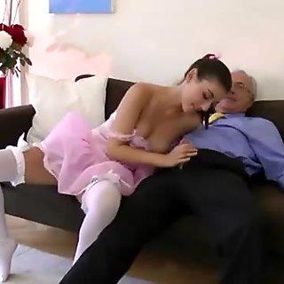 Hot stockings amateur european bitch