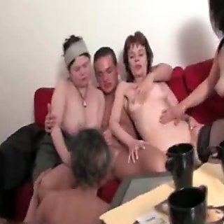 Nasty mature sluts go crazy segment 2