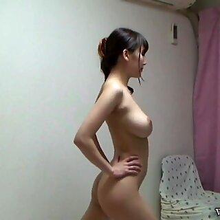 Japanese Teen Perfect Boobs Naked Yoga