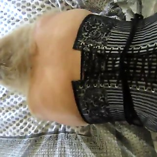 8-1-2015 Taking her from behind in her corset