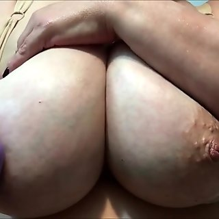 Mature lady with big tits
