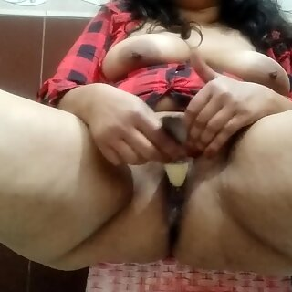 after shower doll masturbation for real climax with falling water