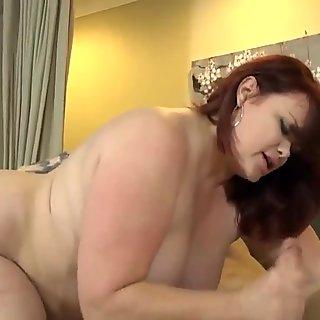 Big Readhead Woman fuck