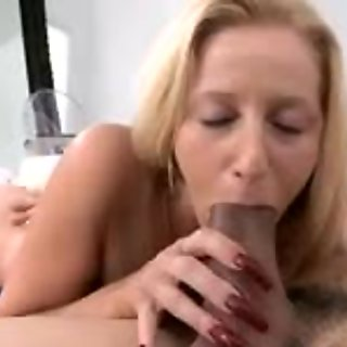 Hot milf with sexy stockings