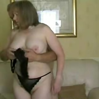 My Granny MILF Exposed - hot mature in stockings blowjob