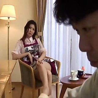 Horny Japanese slut Nanako Yoshioka in Best JAV uncensored Mature scene