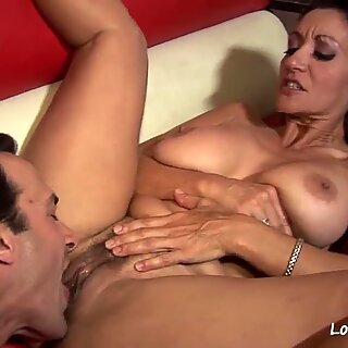 Pussy licking and banging for his hot girlfriend