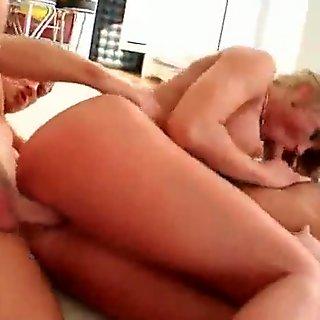 Sexy Busty MILFs Get Juicy Pussy Banged Hard 01